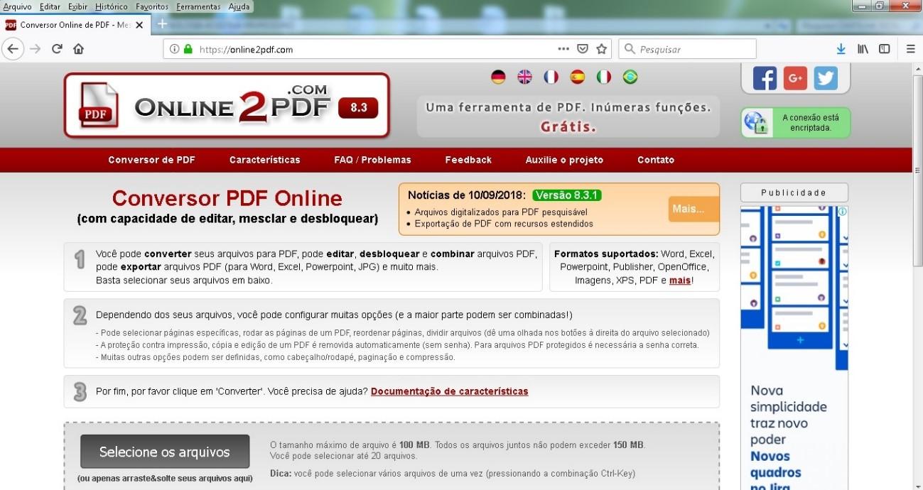 converter arquivo pdf protegido para word