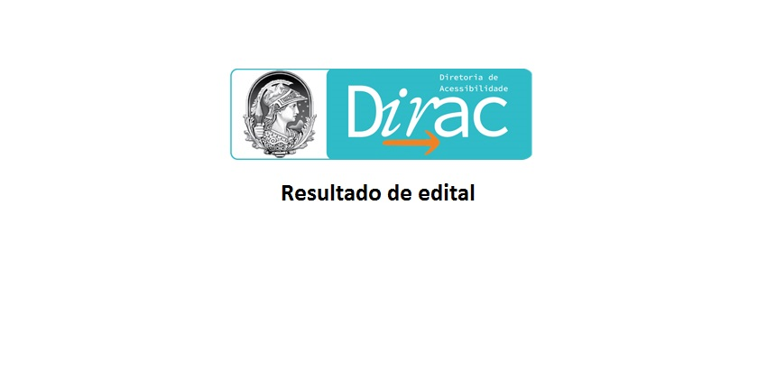Banner digital de divulgação. Sobre fundo branco, ao centro, o logotipo da Diretoria de Acessibilidade. Abaixo, em preto, está escrito