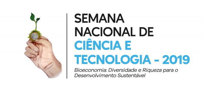 logo Semana Nacional de Ciência e Tecnologia 2019